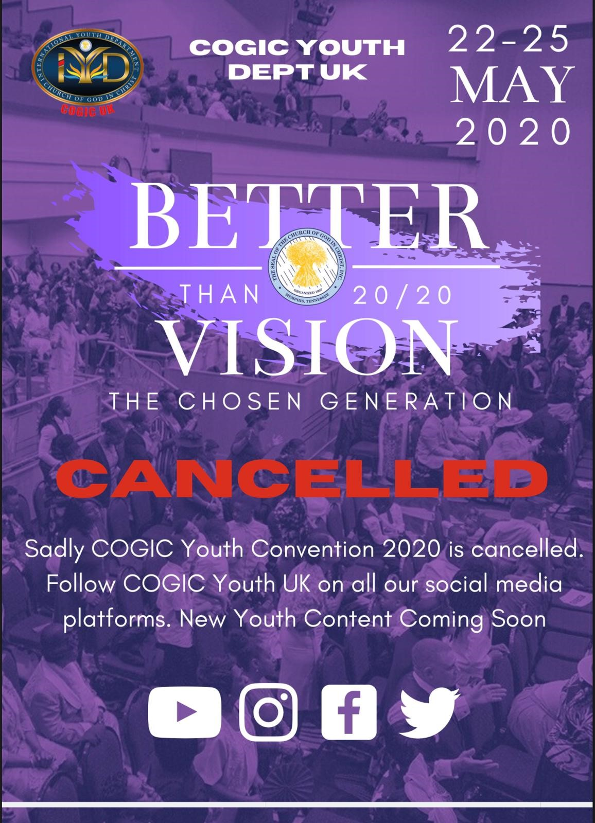 COGIC UK Youth Convention 2020