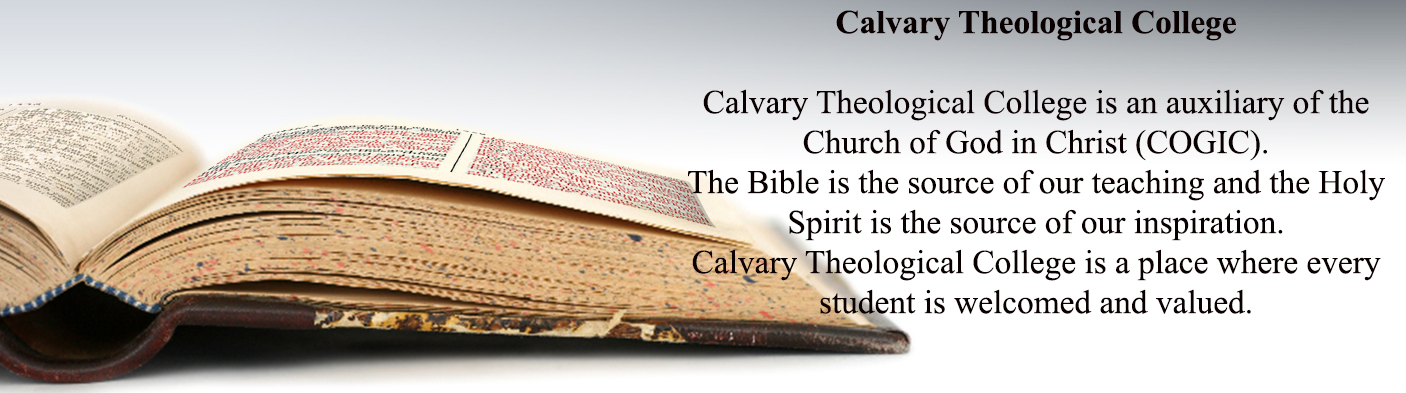 COGIC UK Calvary Theological College