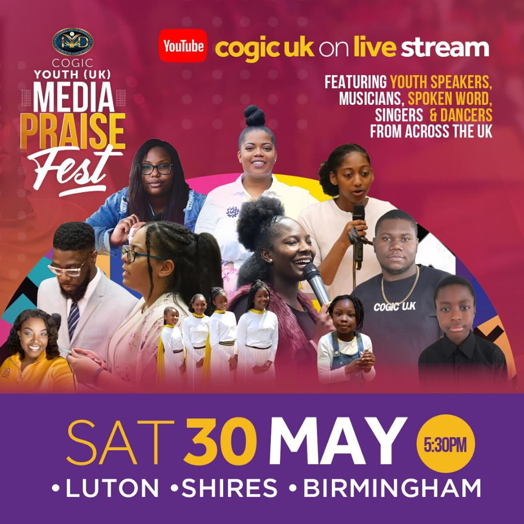 COGIC UK Youth - Media Praise Fest