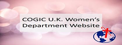 COGIC UK Women's Department