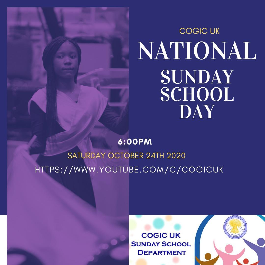 COGIC UK Sunday School Day