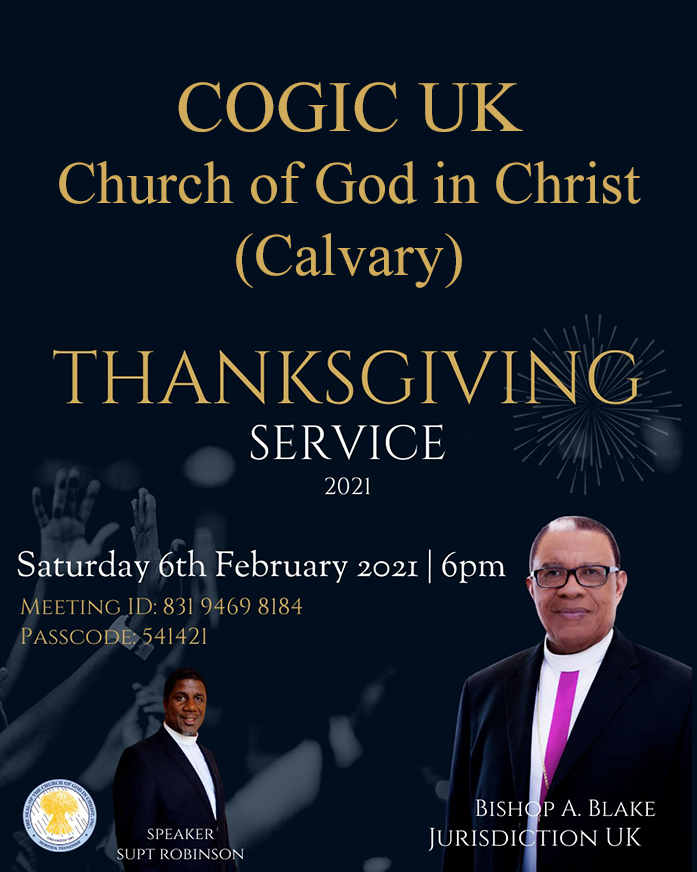 COGIC UK