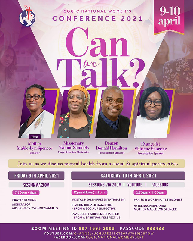 COGIC UK National Women's Conference 2021