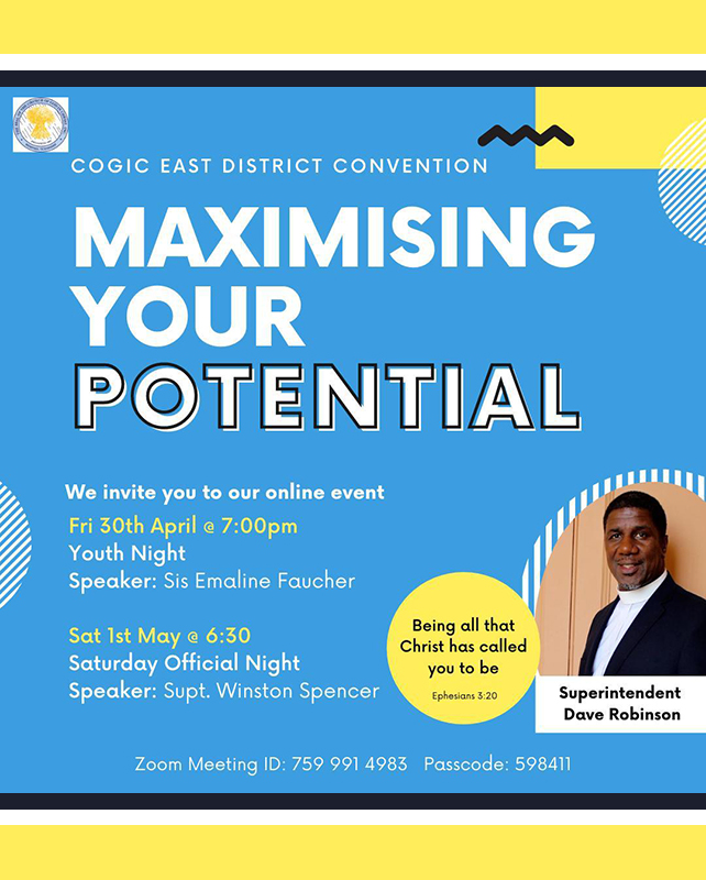 COGIC East District Convention